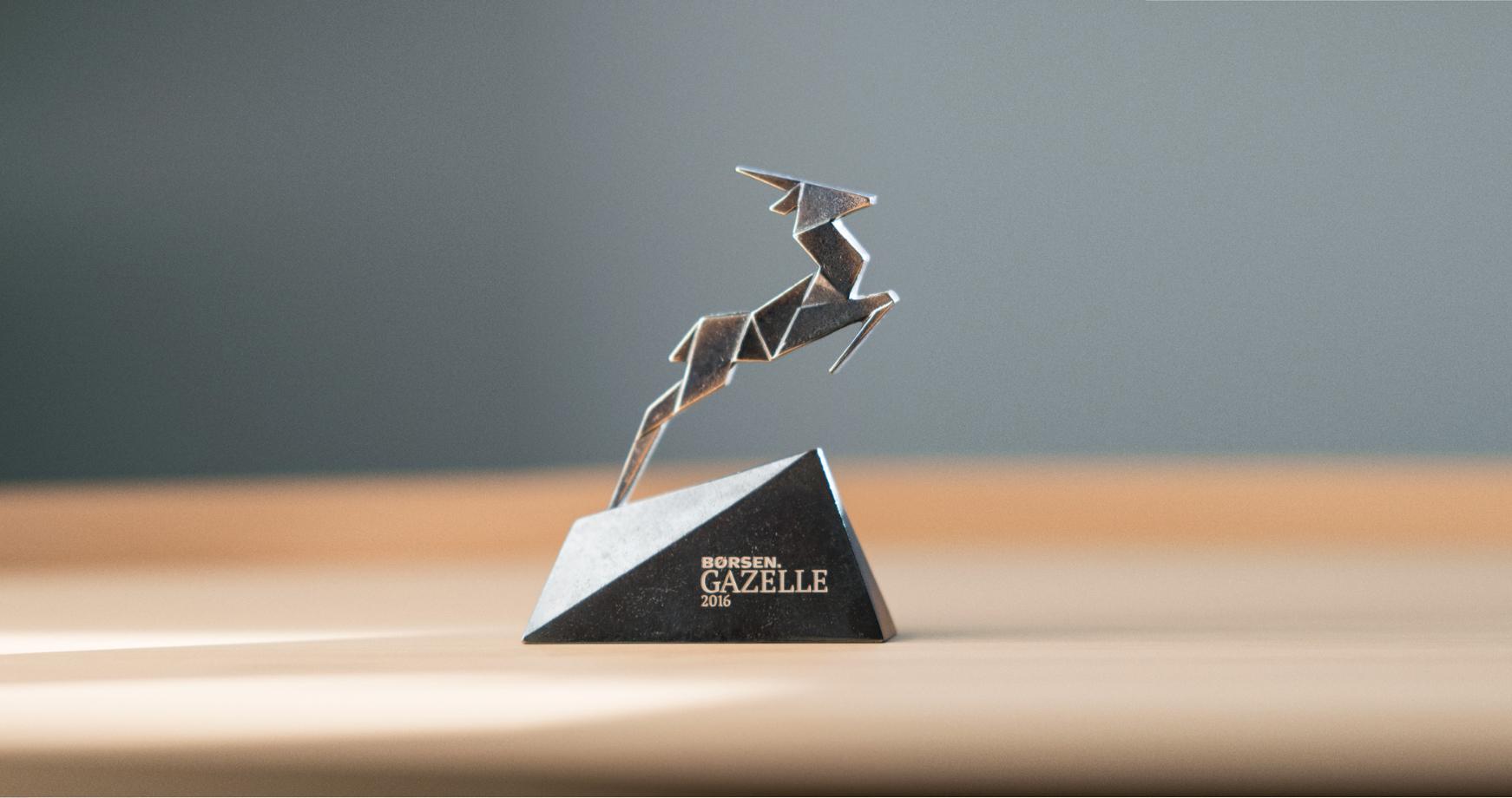 Hørning vinder Børsen Gazelle pris 2016