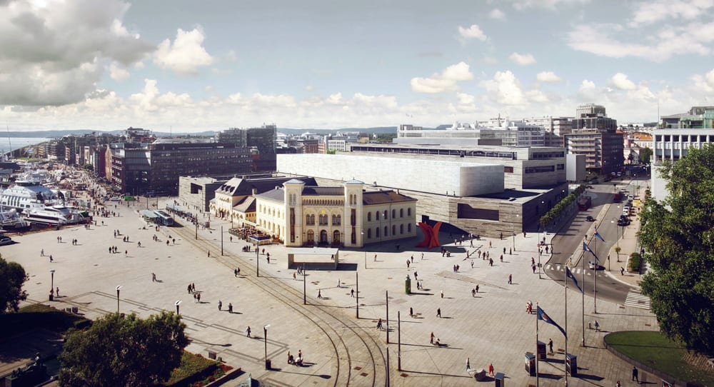 Norway's new national museum in Oslo will have HØRNING floors.