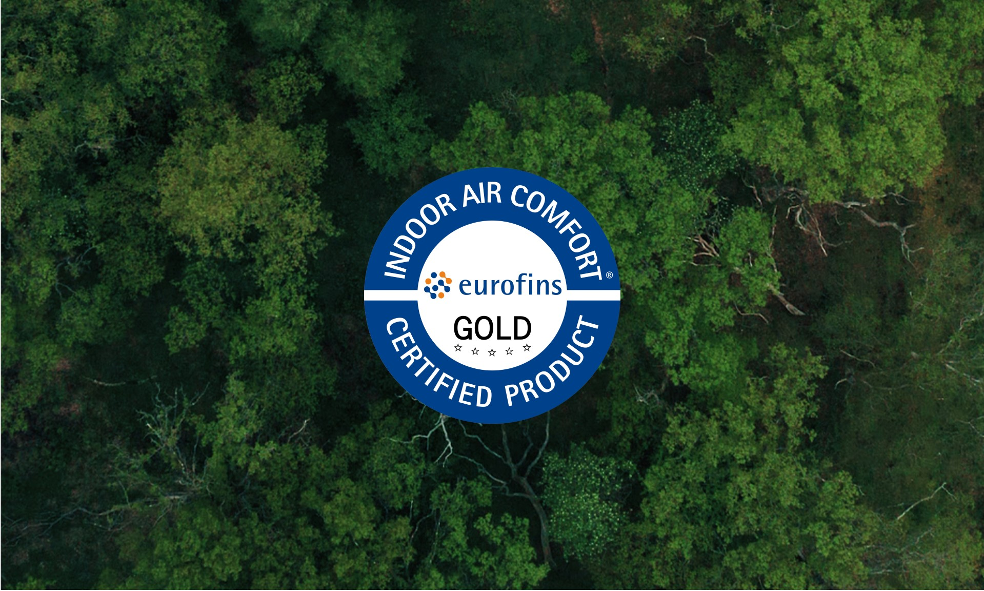 Hørning Parket is Eurofins Indoor Air Comfort Gold certified